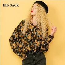 ELF SACK Other Animal Patterns Shirts & Blouses