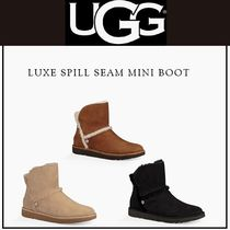 UGG Australia Casual Style Fur Ankle & Booties Boots