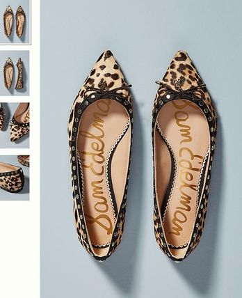 Leopard Patterns Flats