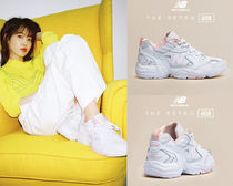 New Balance Round Toe Casual Style Low-Top Sneakers