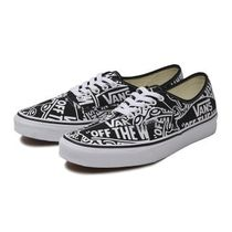 VANS AUTHENTIC Unisex Street Style Deck Shoes Loafers & Slip-ons