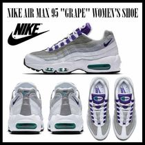 Nike AIR MAX 95 Stripes Casual Style Unisex Street Style Low-Top Sneakers
