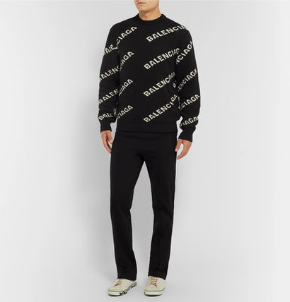 BALENCIAGA Knits & Sweaters Wool Long Sleeves Knits & Sweaters 3