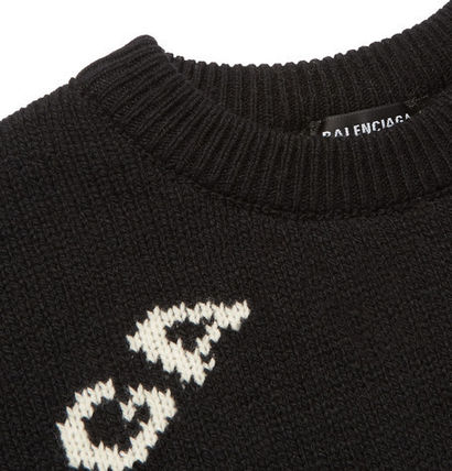 BALENCIAGA Knits & Sweaters Wool Long Sleeves Knits & Sweaters 5
