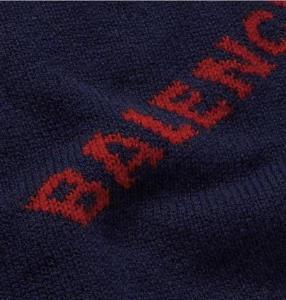 BALENCIAGA Knits & Sweaters Wool Long Sleeves Knits & Sweaters 16