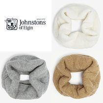 Johnstons Unisex Cashmere Plain Accessories