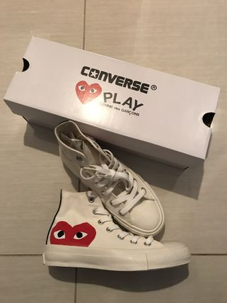 7f583fbc316c ... COMME des GARCONS Low-Top Heart Casual Style Unisex Street Style  Collaboration 3 ...