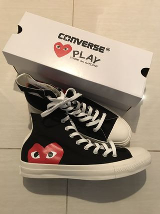 0a11e2b98a54 ... COMME des GARCONS Low-Top Heart Casual Style Unisex Street Style  Collaboration 4 ...