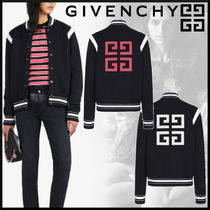 GIVENCHY Short Casual Style Wool Street Style MA-1 Bomber Jackets