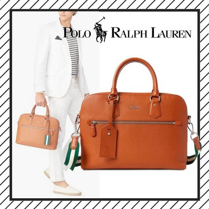 ... POLO RALPH LAUREN Business   Briefcases A4 2WAY Plain Leather Business    Briefcases ... 1689e51334db6