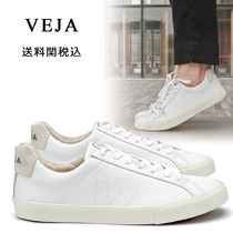 VEJA Round Toe Rubber Sole Lace-up Casual Style Unisex