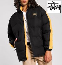 STUSSY Street Style Plain Down Jackets
