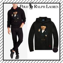 POLO RALPH LAUREN Wool Low Gauge Long Sleeves Other Animal Patterns