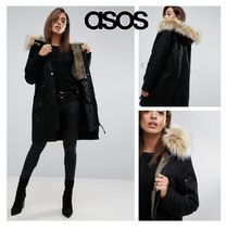 ASOS Street Style Plain Medium Biker Jackets
