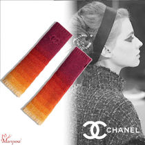 CHANEL Cashmere Elegant Style Smartphone Use Gloves