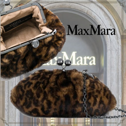Leopard Patterns Fur 2WAY Chain Special Edition