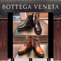 BOTTEGA VENETA Plain Leather U Tips Boots