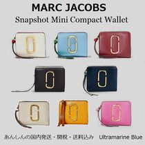 MARC JACOBS Snapshot Saffiano Plain Folding Wallets