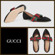 GUCCI Suede Loafer & Moccasin Shoes