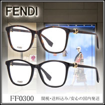 FENDI Unisex Square Optical Eyewear