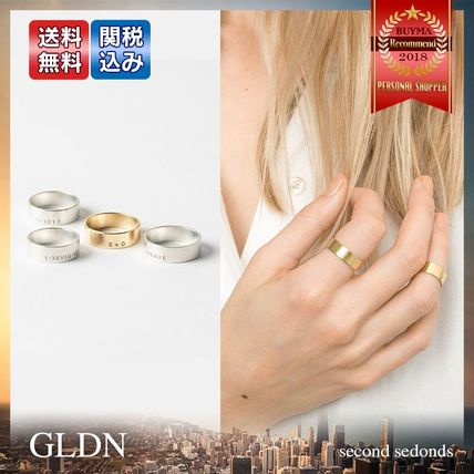 Casual Style Handmade Silver 14K Gold Fine