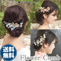 Flower Elegant Style Hair Accessories
