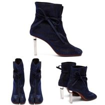 VETEMENTS Street Style Elegant Style Ankle & Booties Boots