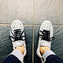Supreme Dots Unisex Suede Street Style Collaboration
