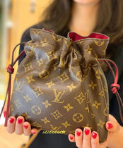 Louis Vuitton MONOGRAM Unisex Blended Fabrics Special Edition 1-3 Days Soft Type