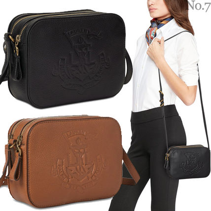 1d09ab751577 ... Ralph Lauren Shoulder Bags Street Style Plain Leather Elegant Style  Shoulder Bags ...