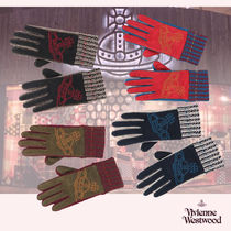 Vivienne Westwood Other Check Patterns Leather Leather & Faux Leather Gloves