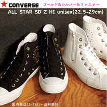 CONVERSE ALL STAR Unisex Studded Street Style Plain Sneakers