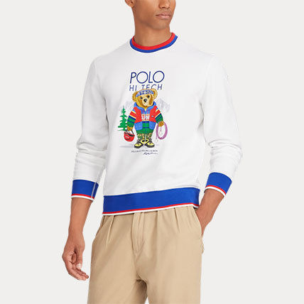 Ralph Lauren Sweatshirts Crew Neck Long Sleeves Cotton Sweatshirts 5
