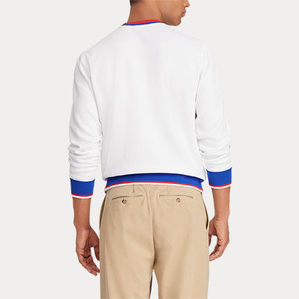 Ralph Lauren Sweatshirts Crew Neck Long Sleeves Cotton Sweatshirts 6