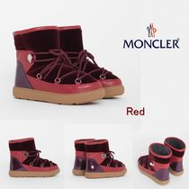 MONCLER Casual Style Plain Ankle & Booties Boots