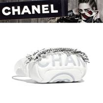 CHANEL Nylon Shoulder Bags