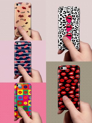 Tropical Patterns Unisex Street Style Bi-color iPhone 8