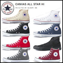 CONVERSE ALL STAR Plain Toe Casual Style Unisex Street Style Plain