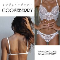 GOOSEBERRY Plain Lace Bras