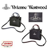 Vivienne Westwood Casual Style 2WAY Plain Leather Shoulder Bags