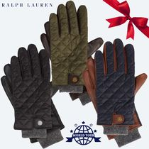 Ralph Lauren Other Check Patterns Leather Leather & Faux Leather Gloves