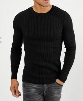 ASOS Knits & Sweaters Crew Neck Street Style Long Sleeves Plain Knits & Sweaters 2