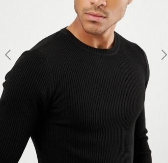 ASOS Knits & Sweaters Crew Neck Street Style Long Sleeves Plain Knits & Sweaters 4