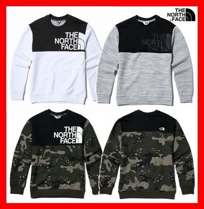 THE NORTH FACE Sweatshirts Unisex Street Style Sweatshirts