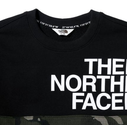 THE NORTH FACE Sweatshirts Unisex Street Style Sweatshirts 3
