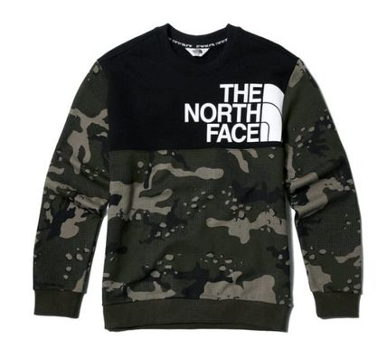 THE NORTH FACE Sweatshirts Unisex Street Style Sweatshirts 5