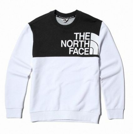 THE NORTH FACE Sweatshirts Unisex Street Style Sweatshirts 7