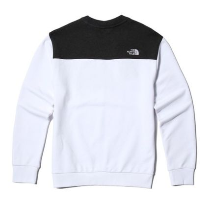 THE NORTH FACE Sweatshirts Unisex Street Style Sweatshirts 8