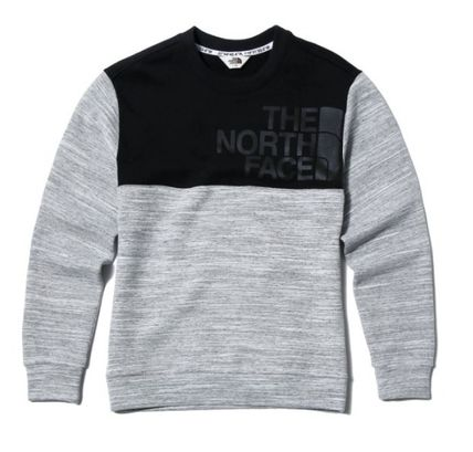 THE NORTH FACE Sweatshirts Unisex Street Style Sweatshirts 9