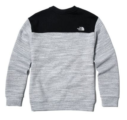 THE NORTH FACE Sweatshirts Unisex Street Style Sweatshirts 10
